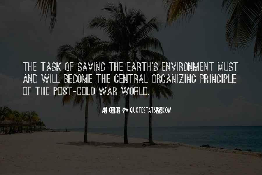Earth Saving Quotes #1585870