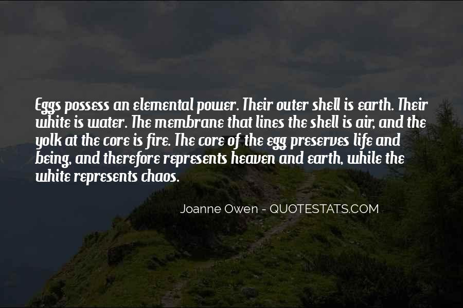 Earth Water Air Fire Quotes #115024