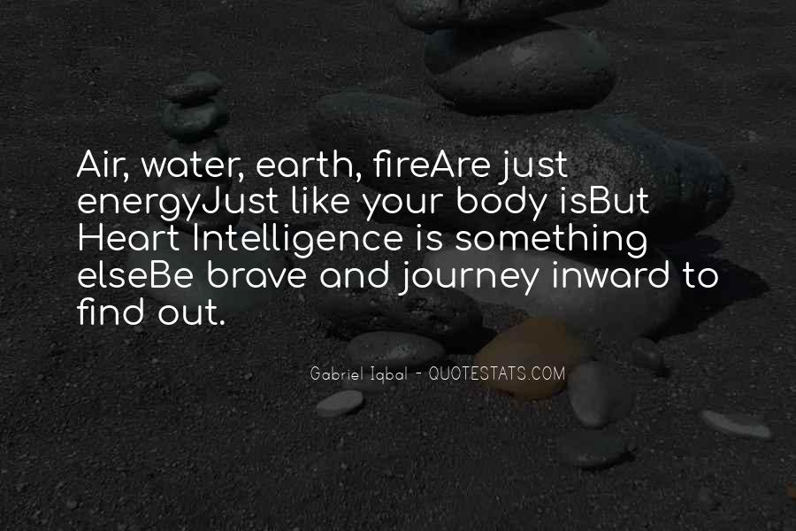 Earth Water Air Fire Quotes #1203852