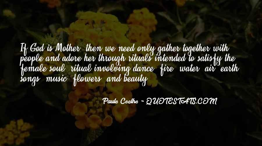 Earth Water Air Fire Quotes #1734090