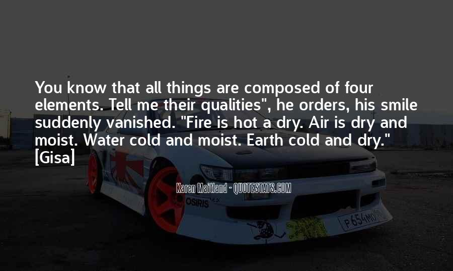 Earth Water Air Fire Quotes #405176