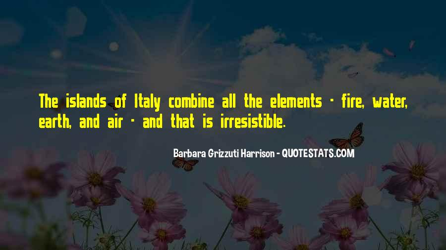 Earth Water Air Fire Quotes #452055