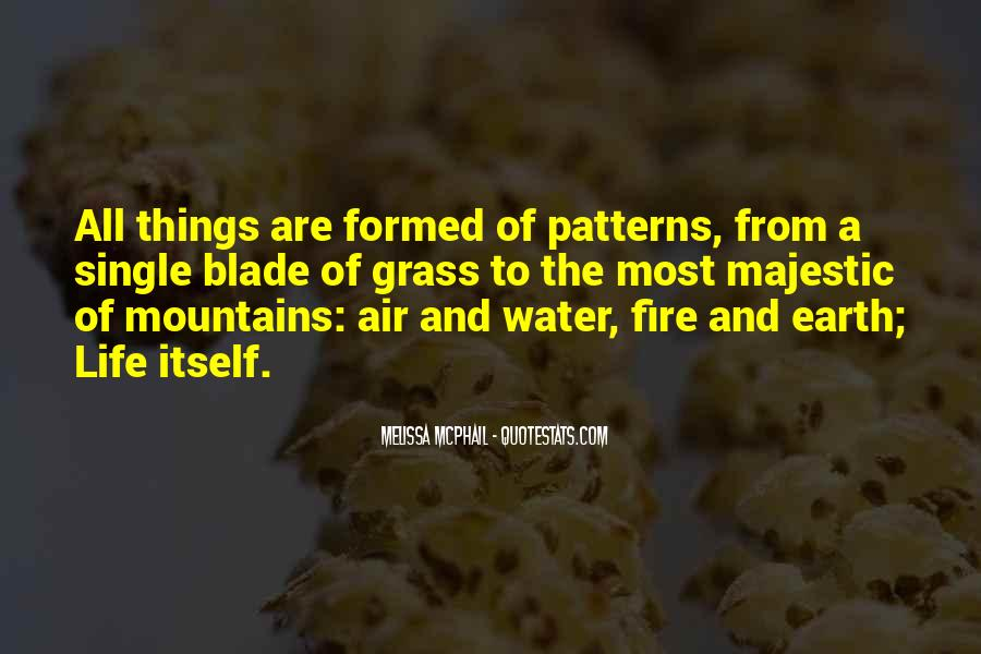 Earth Water Air Fire Quotes #734987