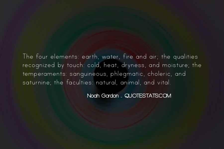 Earth Water Air Fire Quotes #944946