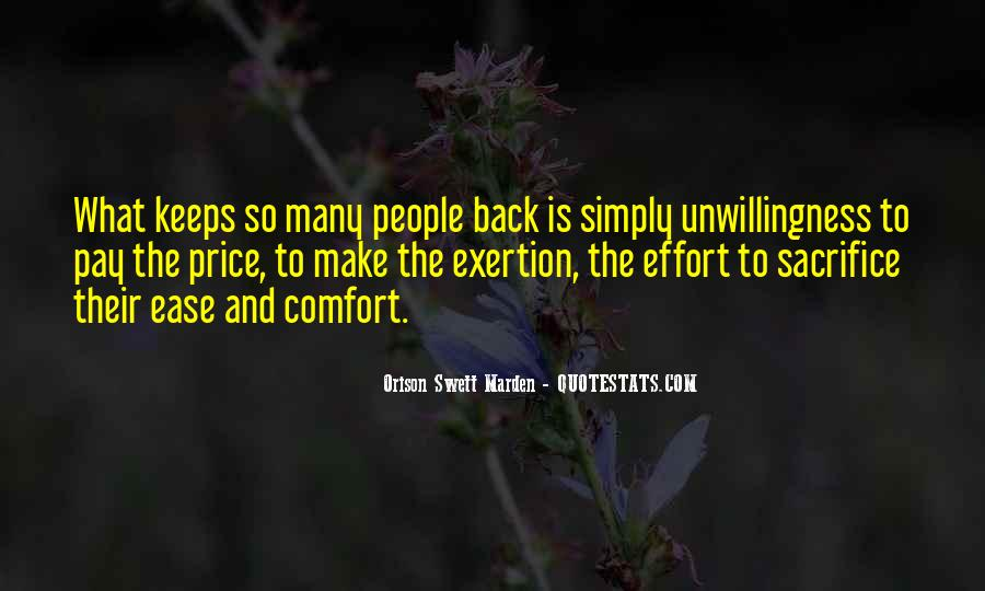 Ease And Comfort Quotes #1530019