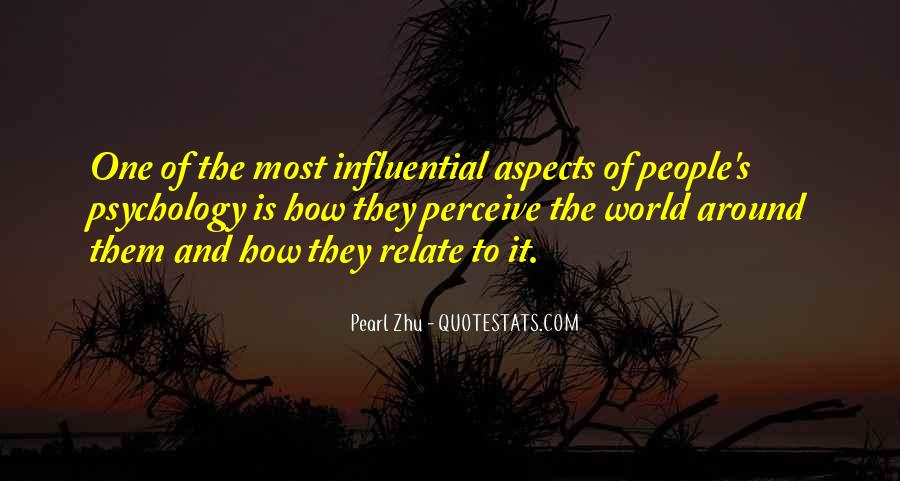Quotes About Influential People #554162