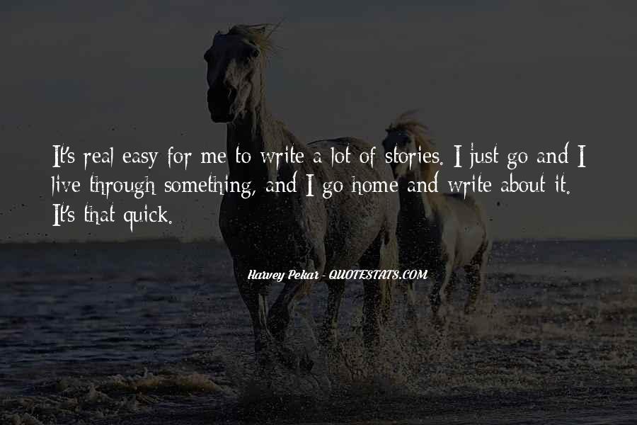 Easy Go Quotes #275562