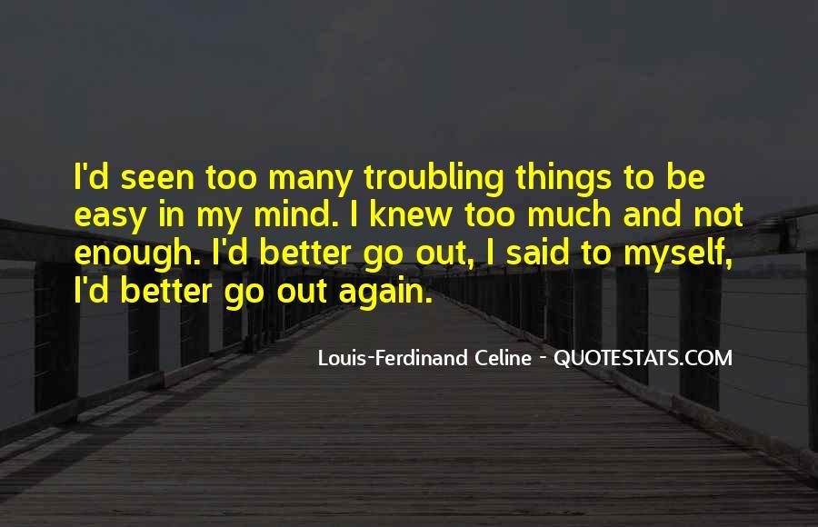 Easy Go Quotes #280939