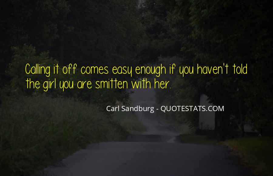Easy Going Girl Quotes #1018882