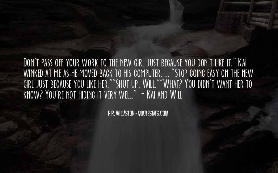 Easy Going Girl Quotes #227333