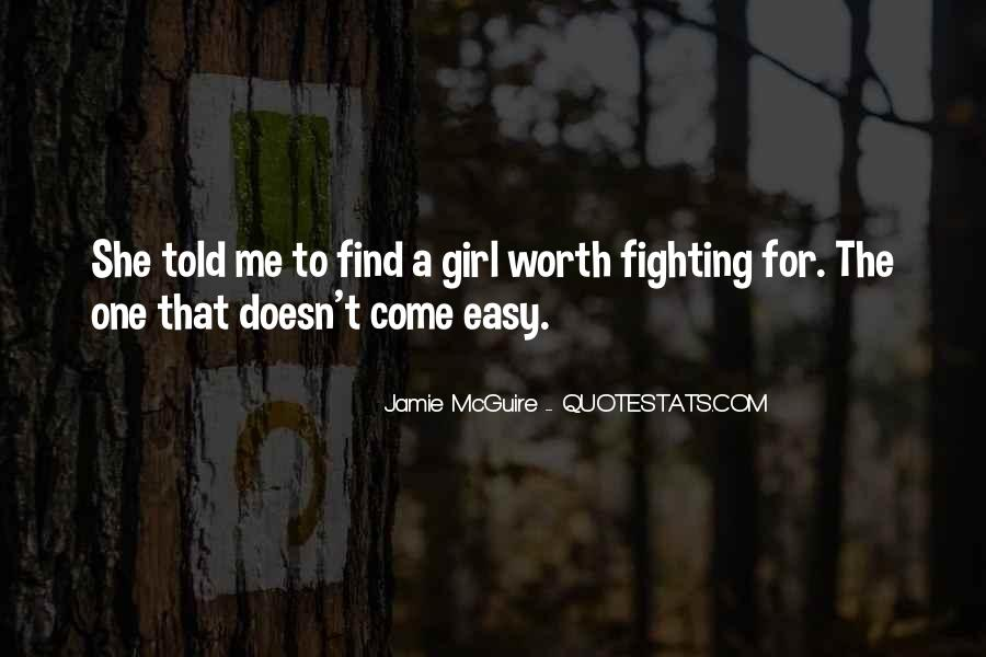 Easy Going Girl Quotes #77369
