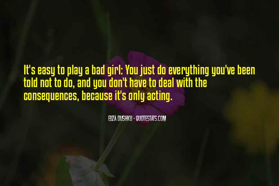 Easy Going Girl Quotes #77500