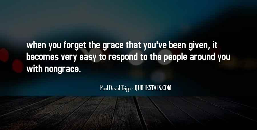Easy To Forget Me Quotes #226079