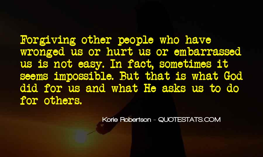 Easy To Hurt Quotes #148080