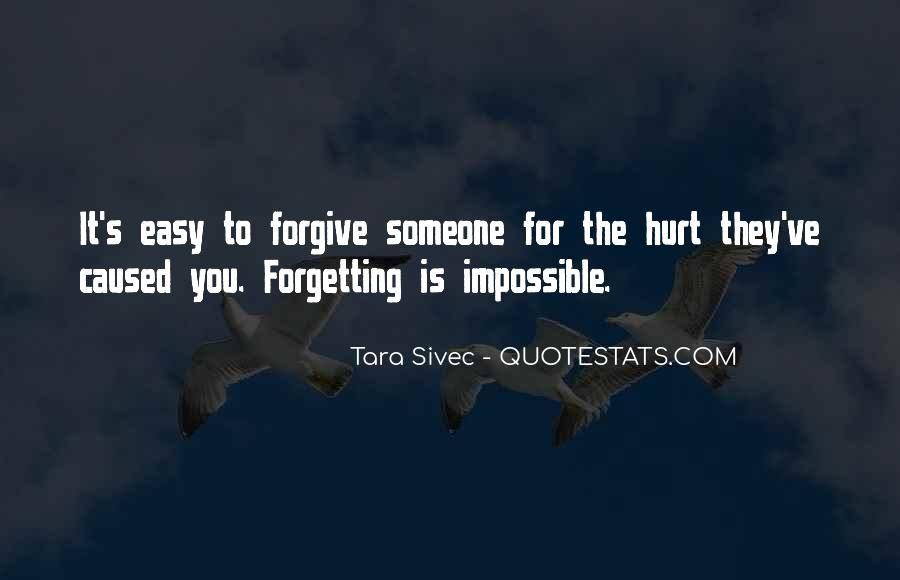 Easy To Hurt Quotes #151615