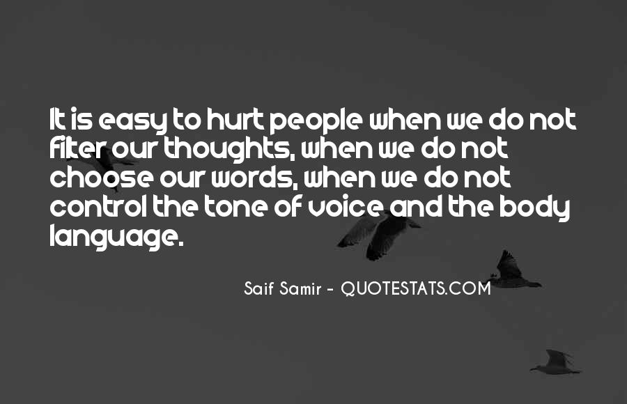 Easy To Hurt Quotes #775955