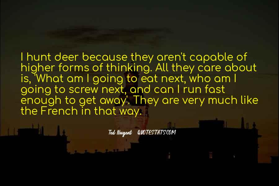 Eat And Run Quotes #371211