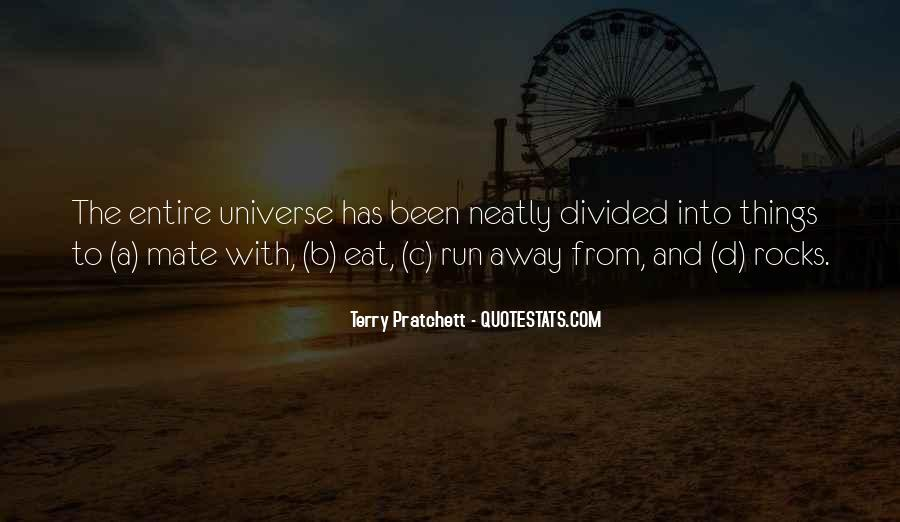 Eat And Run Quotes #414806