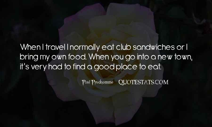 Eat Well Travel Often Quotes #151182