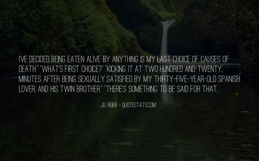 Eaten Alive Quotes #809702