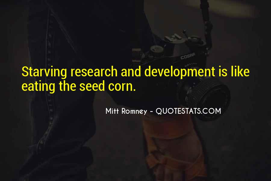 Eating Corn Quotes #1226046