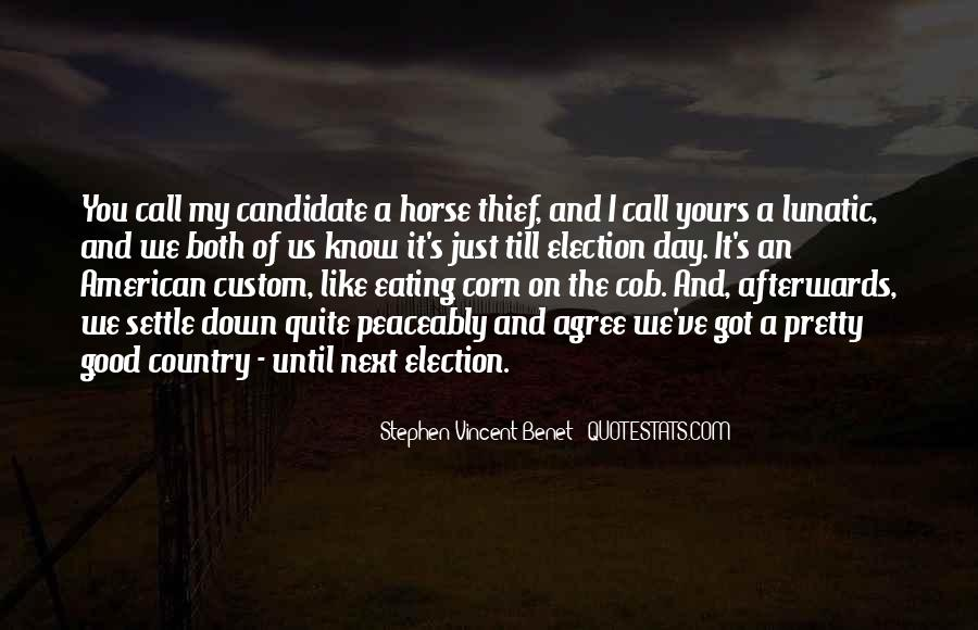 Eating Corn Quotes #722051