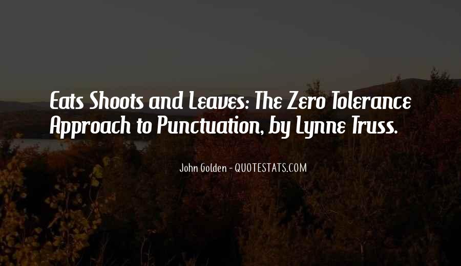 Eats Shoots And Leaves Quotes #1180746