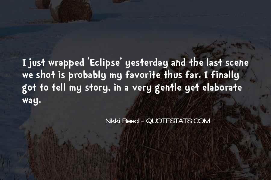 Eclipse Quotes #406330