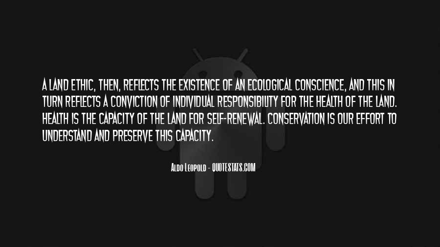 Ecological Conservation Quotes #427603