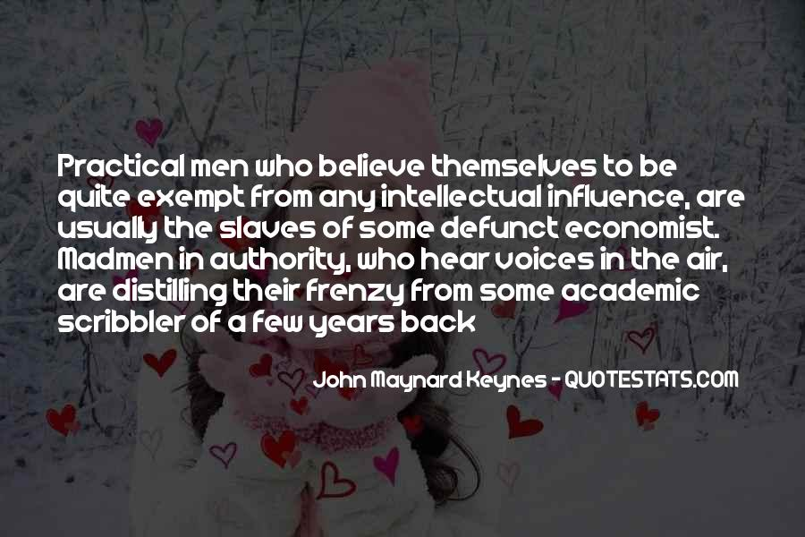 Economist Keynes Quotes #357080