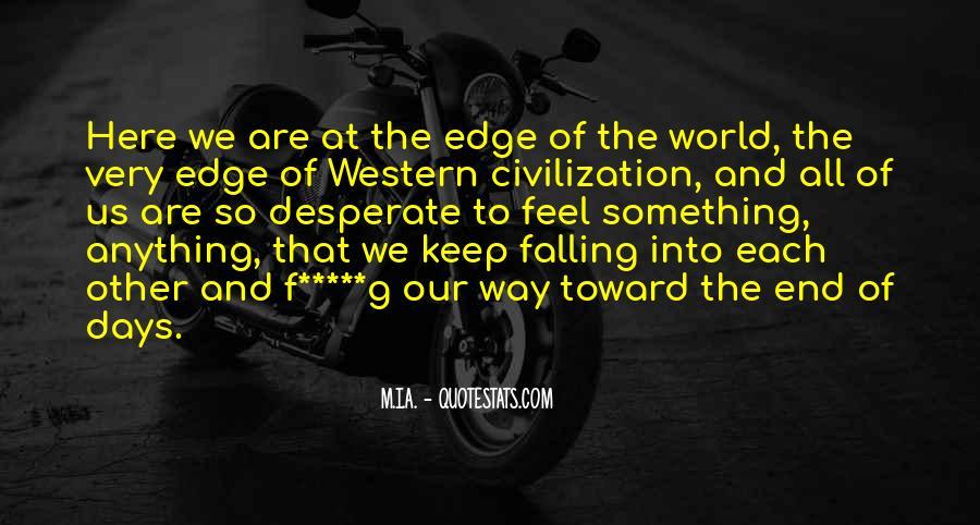 Edge Of America Quotes #1075601