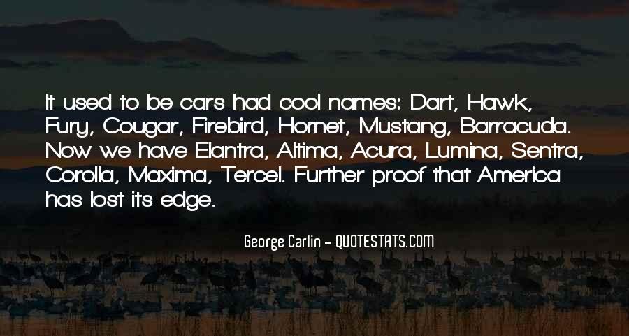 Edge Of America Quotes #1314834