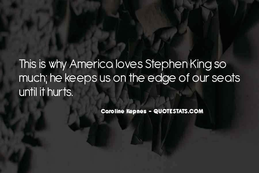 Edge Of America Quotes #175920