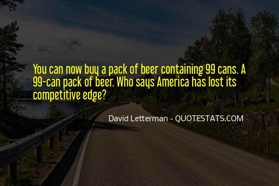 Edge Of America Quotes #1839585