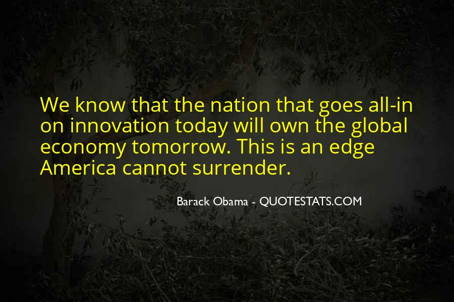 Edge Of America Quotes #309963