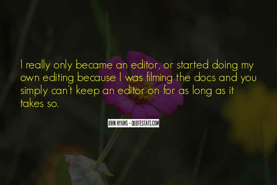 Editor For Quotes #311564