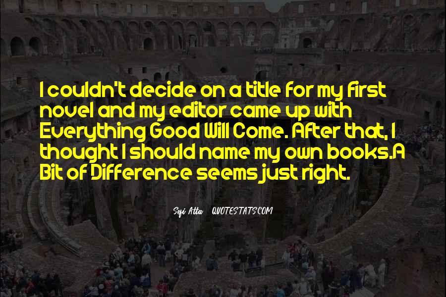 Editor For Quotes #363470