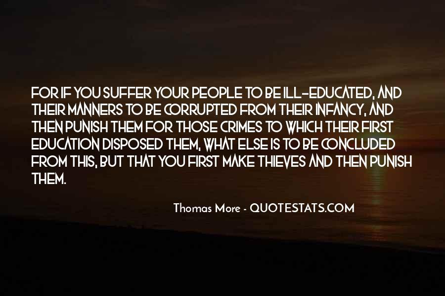 Educated But No Manners Quotes #513477