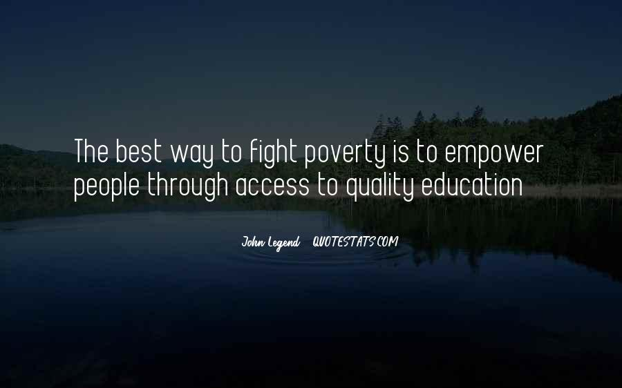 Education Access Quotes #1064054