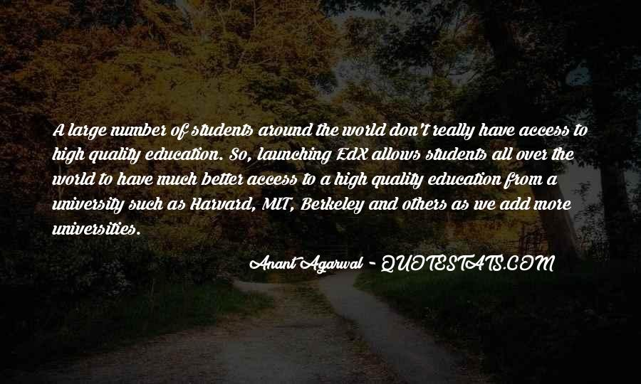 Education Access Quotes #1092886
