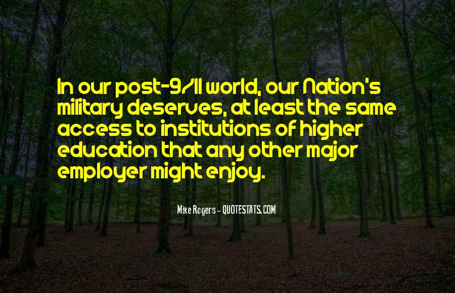 Education Access Quotes #1176261