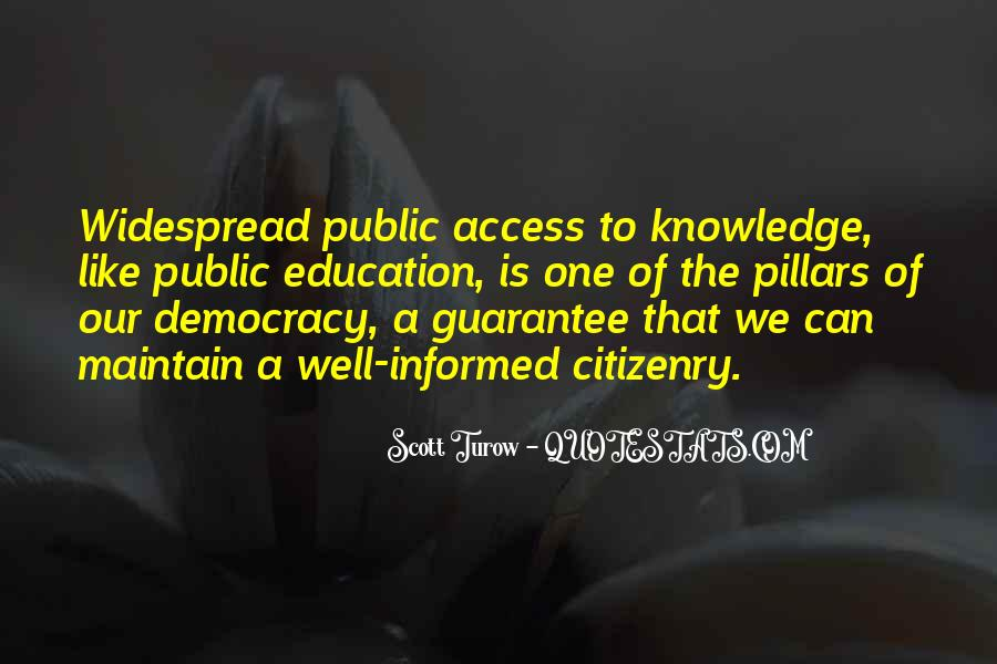 Education Access Quotes #1319141
