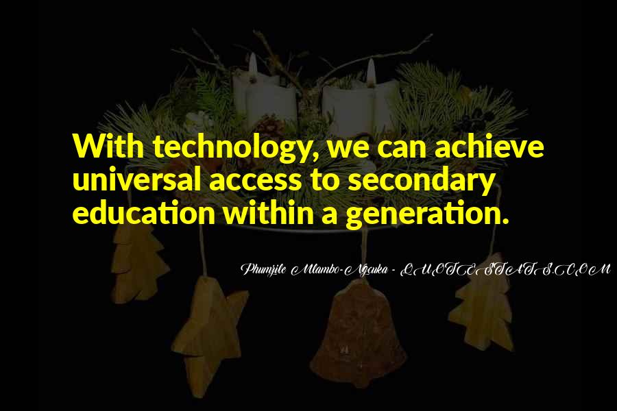 Education Access Quotes #1508199