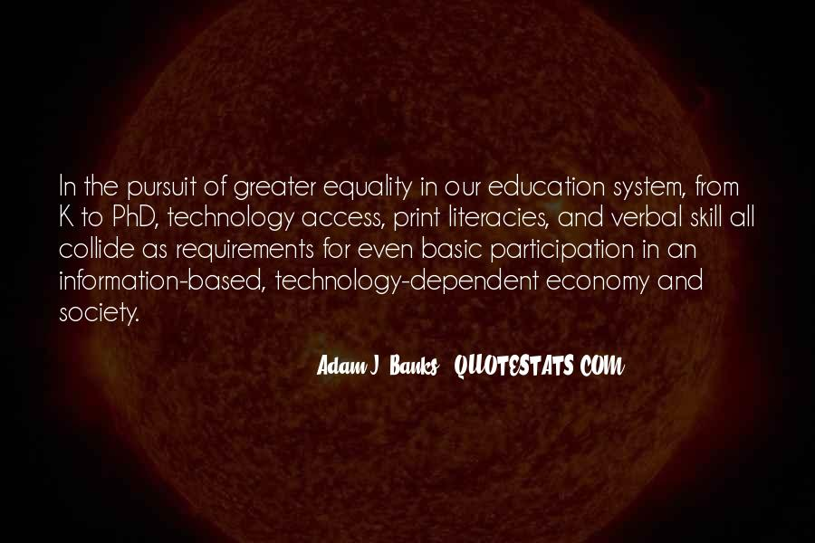 Education Access Quotes #1666866