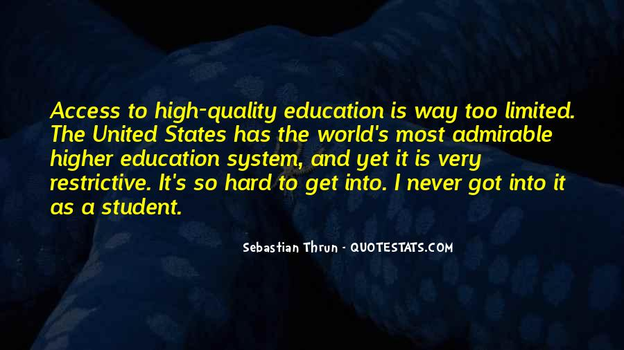 Education Access Quotes #1745185