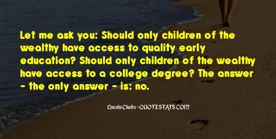 Education Access Quotes #32039