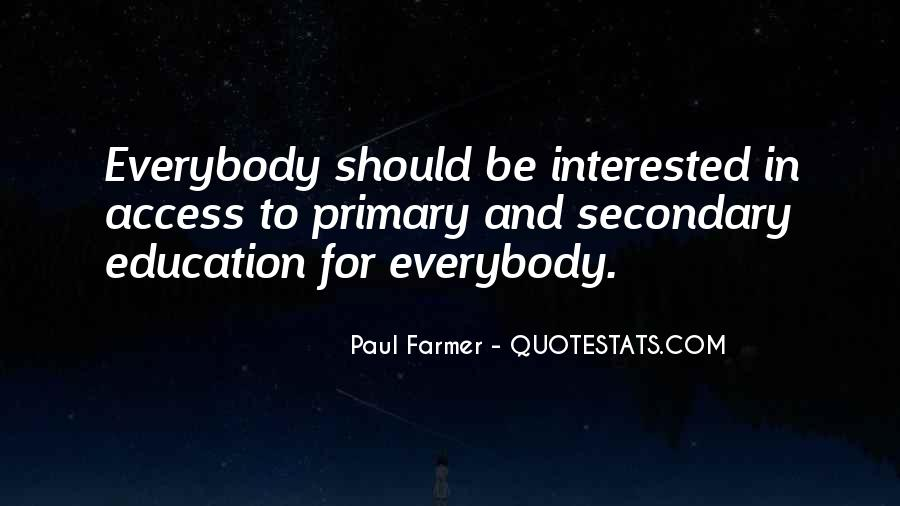 Education Access Quotes #379984