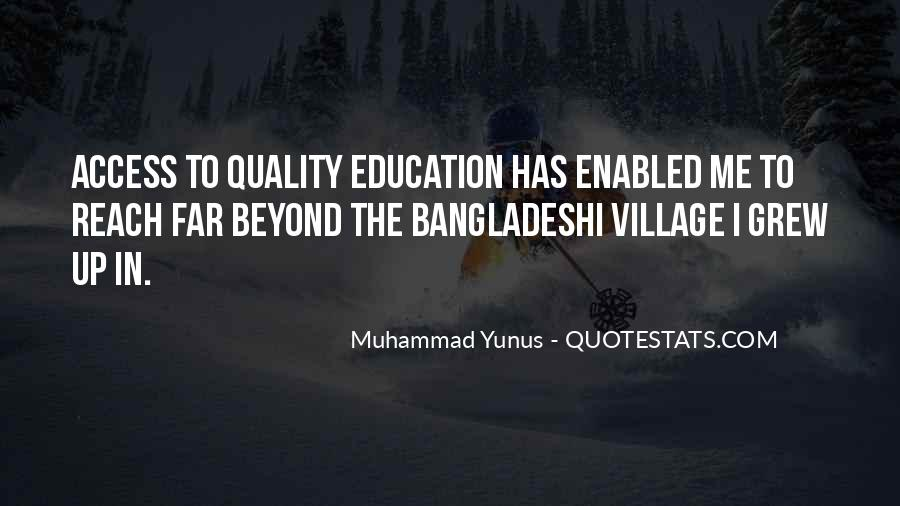 Education Access Quotes #540808