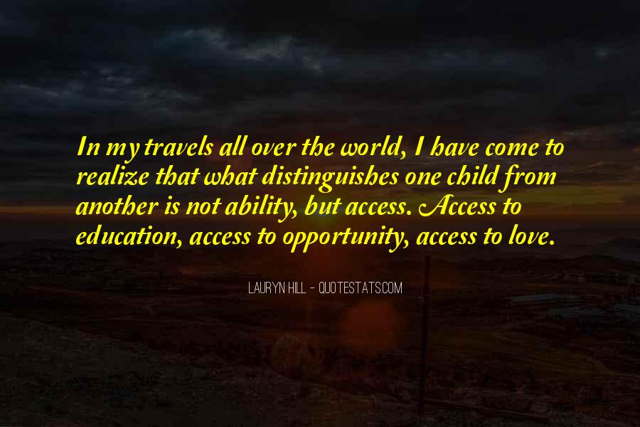 Education Access Quotes #761067