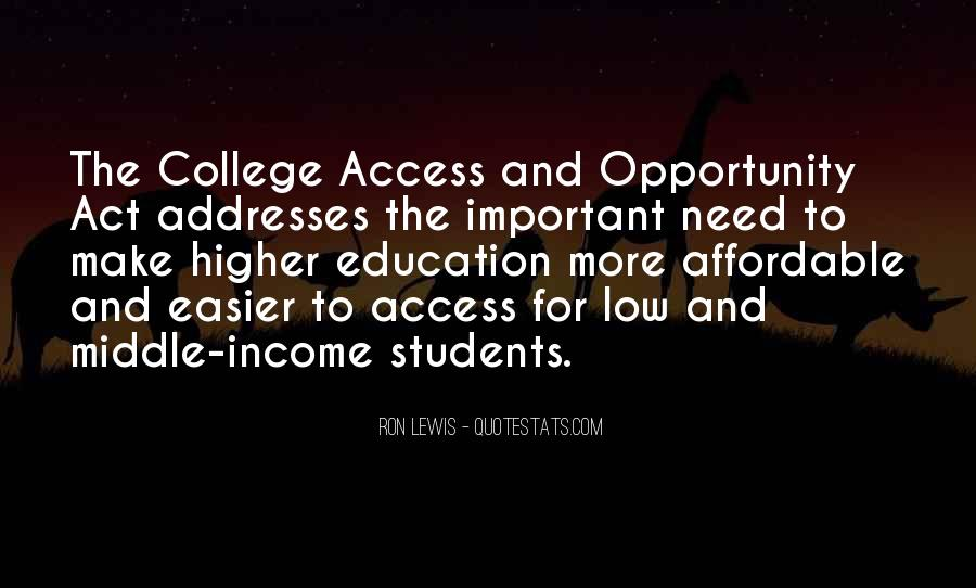 Education Access Quotes #955218